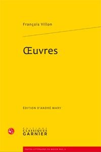 François Villon, Oeuvres (réimpr.)