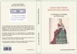 J.C. Montanier,  Soulas d'Allainval - Un littérateur et son théâtre au XVIIIe siècle