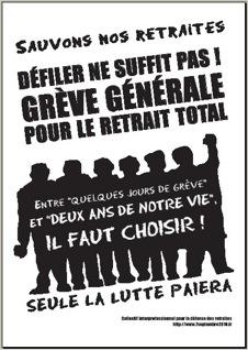 Éducation: de nombreuses AG votent la reconduction de la grève (màj 18/10/10)