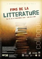 Fins de la littérature