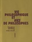 B. Clément & C. Trottmann (dir.), Vie philosophique et Vies de philosophes
