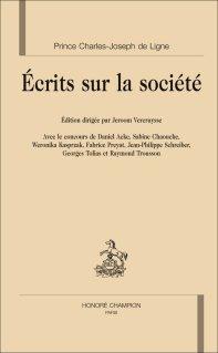Prince de Ligne, Écrits sur la société