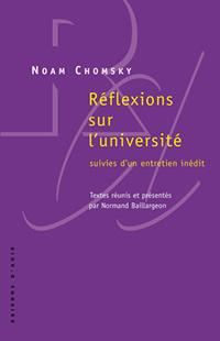 N. Chomsky, Réflexions sur l'université