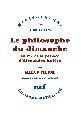 M. Filoni, Le Philosophe du dimanche. La vie et la pensée de Kojève