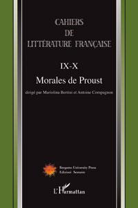 Cahiers de littérature française, n°IX-X :