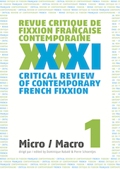 <em>Revue critique de fixxion française contemporaine</em>, n°1 : Micro/macro