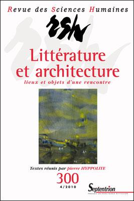 Revue des sciences humaines n 300 4 2010 litt rature for Revue sciences humaines