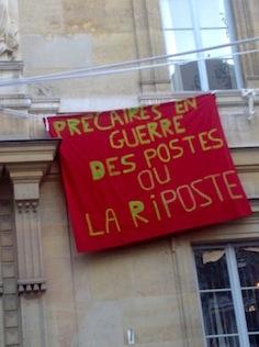 Mouvement contre la précarité à l'ENS: dossier (màj 07/07/11)