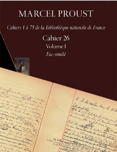 Proust, Cahier 26 (2 volumes)