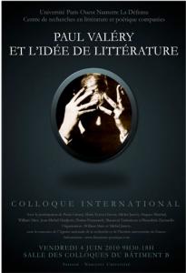 Paul Valéry et l'idée de littérature