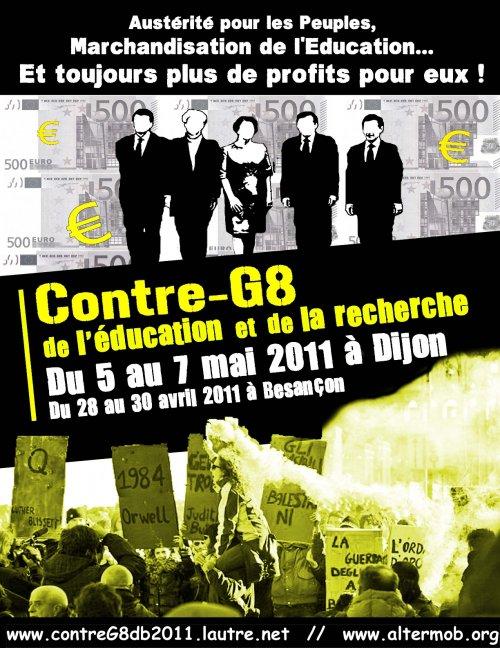 G8 et Contre-G8 des universités