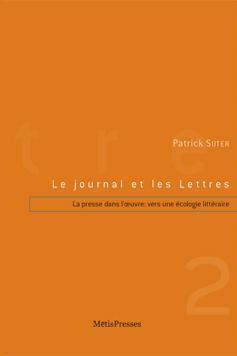 P. Suter, Le Journal et les Lettres. tome 2 :