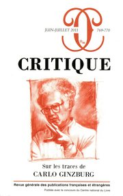 Critique, n°769-770 :