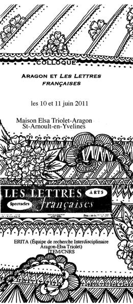 Aragon et Les Lettres françaises