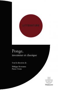Ph. Bonnefis & P. Oster (dir.), Ponge, inventeur et classique