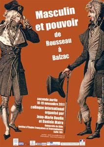 Masculin et pouvoir de Rousseau à Balzac