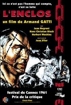 Armand Gatti à la Médiathèque Baron Edmond de Rotschild : projection L'Enclos et rencontre avec l'auteur