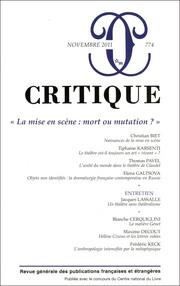 Critique, 774 :