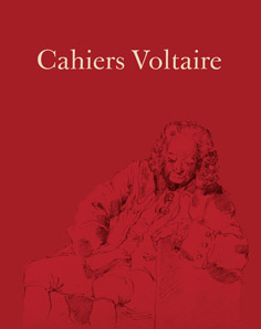 Cahiers Voltaire, n°10