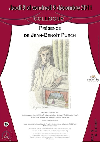 Présence de Jean-Benoît Puech