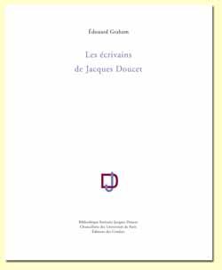 E. Graham, Les Ecrivains de Jacques Doucet