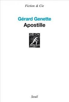 G. Genette, Apostille