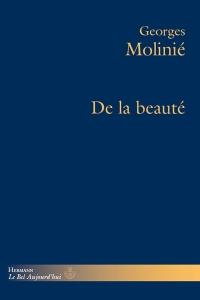 G. Molinié, De la beauté