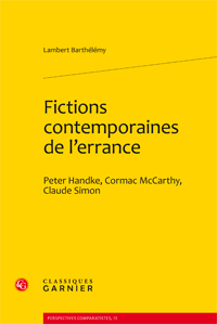 L. Barthélémy, Fictions contemporaines de l'errance
