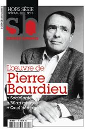 Sciences humaines, n° spécial: P. Bourdieu