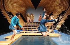 La scène et l'amphithéâtre