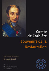 Comte de Corbière, Souvenirs de la Restauration