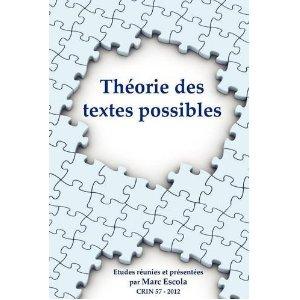 Textes anciens - textes possibles (séminaire Anachronies)
