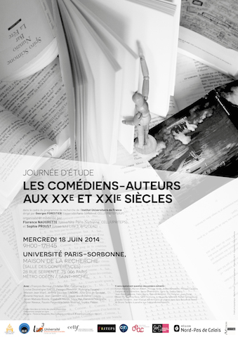 Comédiens, comédiens-auteurs, comédiens-poètes (Angleterre, Espagne, Italie, France – 16e-17e siècles)