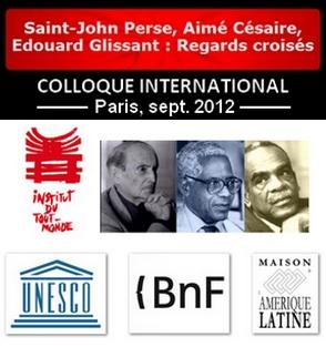 Saint-John Perse, Aimé Césaire, Edouard Glissant : Regards croisés