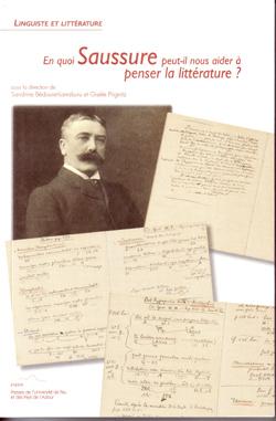 S. Bédouret, G. Prignitz (dir.), En quoi Saussure peut-il nous aider à penser la littérature ?