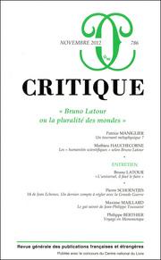 Critique, n°786 :