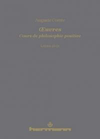 Comte, Cours de philosophie positive - Leçons 46-51