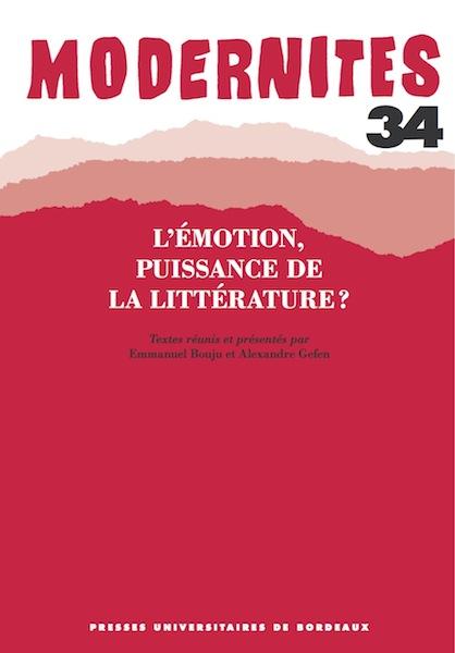 Modernités, n° 34, 2012 :