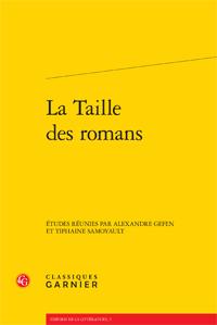A. Gefen & T. Samoyault (dir.), La Taille des romans
