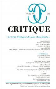 Critique, n°791 :