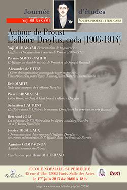 Autour de Proust. L'affaire Dreyfus, coda (1906-1914)