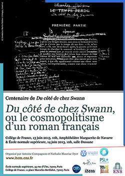 Du côté de chez Swann ou le cosmopolitisme d'un roman français