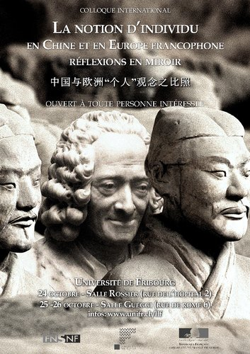 La Notion d'individu en Chine et en Europe francophone: réflexions en miroir