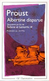 Proust, Albertine disparue, deuxième partie de Sodome et Gomorrhe III (éd. J. Milly).