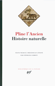 Pline l'Ancien, Histoire naturelle (St. Schmitt, éd.)