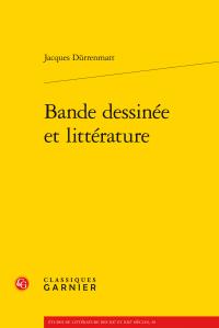 J. Dürrenmatt, Bande dessinée et littérature