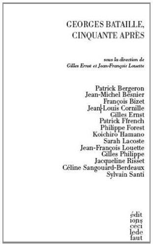 G. Ernst & J-F Louette (dir.), Georges Bataille, cinquante ans après