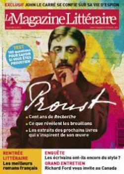 Le Magazine littéraire, n°535, septembre 2013: