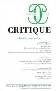 Critique, n°803 :