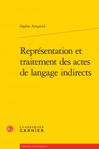 S. Anquetil, Représentation et traitement des actes de langage indirects
